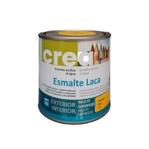 Esmalte acrílico brillante multisuperficies. Crea Esmalte Laca de Montó en Tot Color.