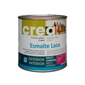 Esmalte acrílico satinado multisuperficies. Crea Esmalte Laca en Tot Color.