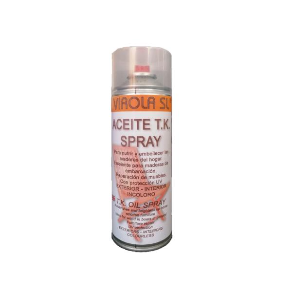 Aceite de teca en spray