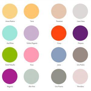 Carta de Colores Pintura Monocapa - Amarto