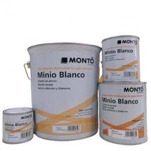 Imprimación Minio Blanco - Montó